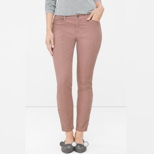 NEW WHBM The Skimmer washed mauve jeans 10